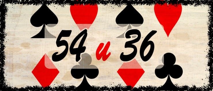 Гадание на 54 и 36 картах